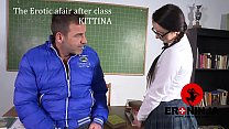 The Erotic afair after class Kittina Ivory  en ...