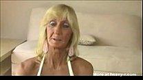 Old Woman Gives Titfuck