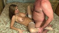 HotWifeRio incredible latina wife creampied by husbands best friend صورة
