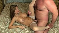 HotWifeRio incredible latina wife creampied by husbands best friend
