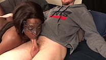 Black Teen Gives Head To White Guy And Gets Creampied