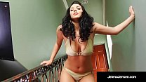 Penthouse Pet Jelena Jensen Bangs Her Pussy With Blue Dildo!