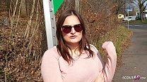 ►► German Big Tits Teen Holly Banks Seduce to Fuck at Bus Stop ◄◄