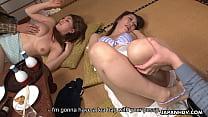 Neighborhood slut Kiyoha Himekawa and her friends have an orgy - 69VClub.Com