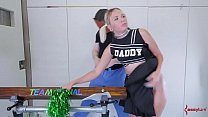 naughty american x videos - ass cheerleader in braces gets nasty ass thumbnail