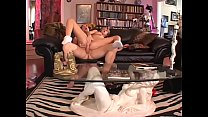 Horny cock sucking blond takes dick in fuck hol...