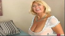 Screenshot Lucky Dude Fuck ing Busty Gilf Blonde Blonde