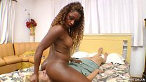 Black Tight Ass on A White Face - Severe Domination by Merciless Girl