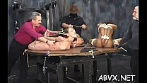 Top notch non-professional bondage scenes with young angel