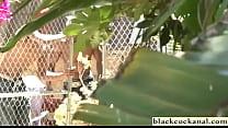 Huge boob blonde with 3 black cocks Vorschaubild