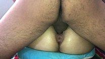 quería darle anal a mi novia, pero estaba en sus días y quería que le cogiera la vagina