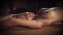 Hot blonde in submission gets spanked and punis...