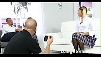Naughty School Girls Fucked By Old Dads   |DaughterLust.com preview image