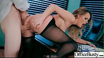 (Alexis Adams) Big Round Juggs Girl Like Hard Bang In Office clip-01