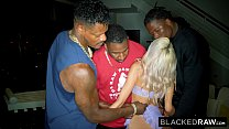 BLACKEDRAW Horny Teen Needs 3 BBCs NOW thumbnail