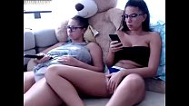 Half Naked Hotties Get Frisky While Watching a Netflix