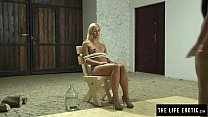 Download video bokep Lesbians playing a domination finger fuck game 3gp terbaru