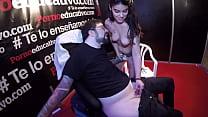 This young girl (Ana Marco) masturbates a disab...