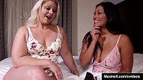 7675 Asian Milf Maxine X & Selah Rain DP'd By Big Black Cock! preview