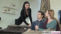 Babes - Step Mom Lessons - Cozy By the Fire starring Jay Smooth and Christiana Cinn and Jasmine Jae Vorschaubild