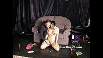 Bdsm reality show of asian slave Tigerr Benson drawing punishments and hot waxin Vorschaubild