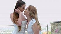 Lovemaking the lesbian way with Chloe Celestine and Kiara Night on Sapphic Eroti