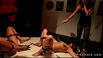 Hot tied up lesbians punished on the floor tumblr xxx video