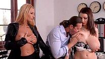 Big titty Euro girls in Hot hardcore action! thumbnail