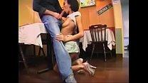 Image: Algerian pornstar fucks at a French restaurant (Cheyenne Kamchka)
