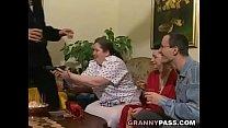 German BBW Granny Loves Young Dick thumbnail