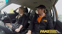 6730 Fake Driving School Busty Blonde Georgie Lyall gets customer satisfaction preview