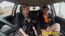 Fake Driving School Busty Blonde Georgie Lyall gets customer satisfaction صورة