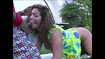 porn friends mom | Busty Bellamaria brunette Gets Gangbanged By Black Cocks thumbnail