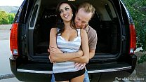 chinese homemade porn - Hot Bitch On A Bike Breanne Benson Rides Cock In The Back Of Ryans Car thumbnail