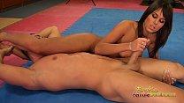 Melanie Memphis Has A Naked Wrestle With A Stranger Vorschaubild