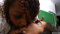 Brutal and Cruel Kissing with Suzan Black thumbnail