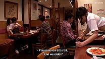 Das Restaurant ist ein Ort, an dem sich die Leute beim Sex wohl fühlen