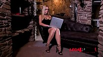 Subby Natalie Cherie dominated & ass fucked by her BDSM Master's big cock GP367
