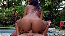 Hot Interracial with Black Babe