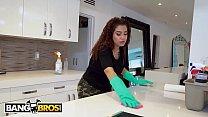 Bangbros - Thicc Dominican Maid Samantha Rose Takes Big Dick