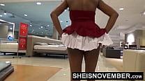 Msnovember Wedgie Big Booty Ass Black Girl Panties In Butt HD صورة