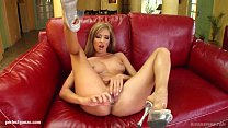 Watch this solo girl Britney masturbating on Give Me Pink with passion preview image
