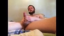 Hung Cock Stroking