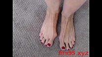 Hottest Milf Camgirl Jess Ryan Footjob Sexy Feet More