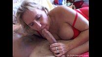 Busty mature amateur gives a great blowjob صورة