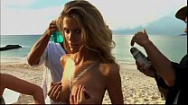 Nude body painting brooklyn decker video