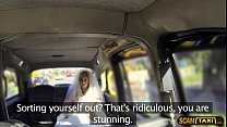Excellent runaway lady fucks in the taxi with another person thumbnail