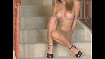 || www.DearSX.com || - Heather Vandeven Masturbates On The Stairs صورة