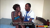 Skinny African In Homemade Sex Tape