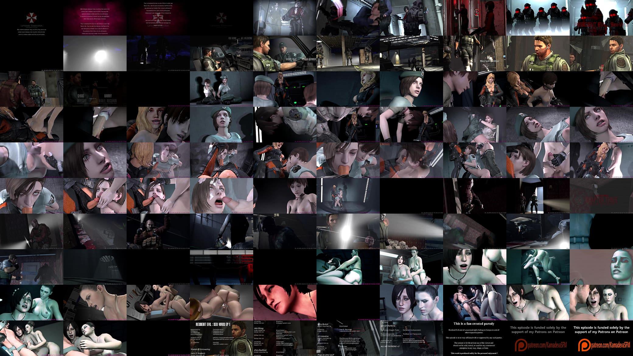 Resident Evil Sex Virus